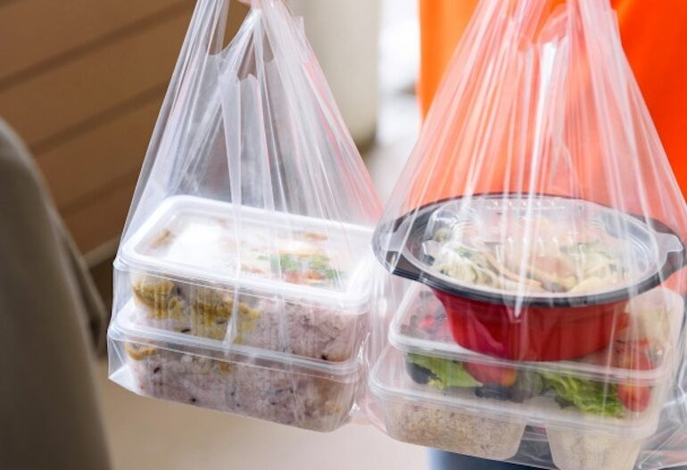 food delivery waste